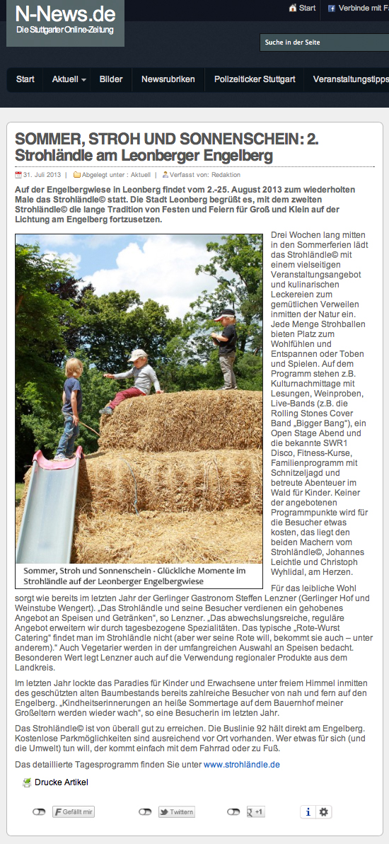 Clipping N-News 31-7-2013